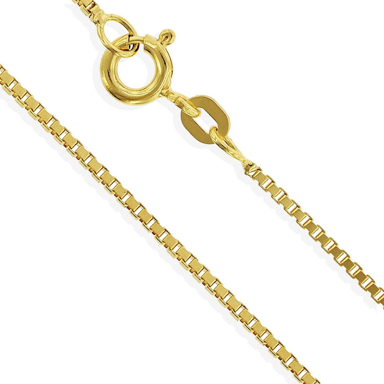 neue Sachen neueste große sorten Gelbgold Venezianerkette 14 Karat 585 14K Herrenkette 50cm Ø 0,70mm  (Art.301028)